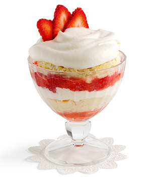Strawberry & Cream Trifles