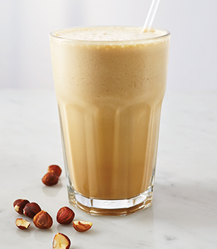 Hazelnut Coffee Frappé