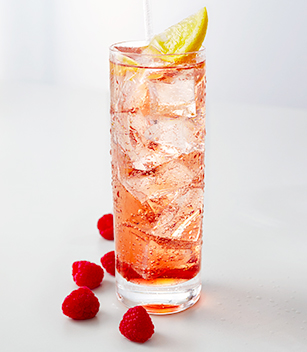Raspberry, Soda & Lemon
