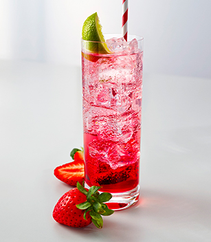 Strawberry, Soda & Lime