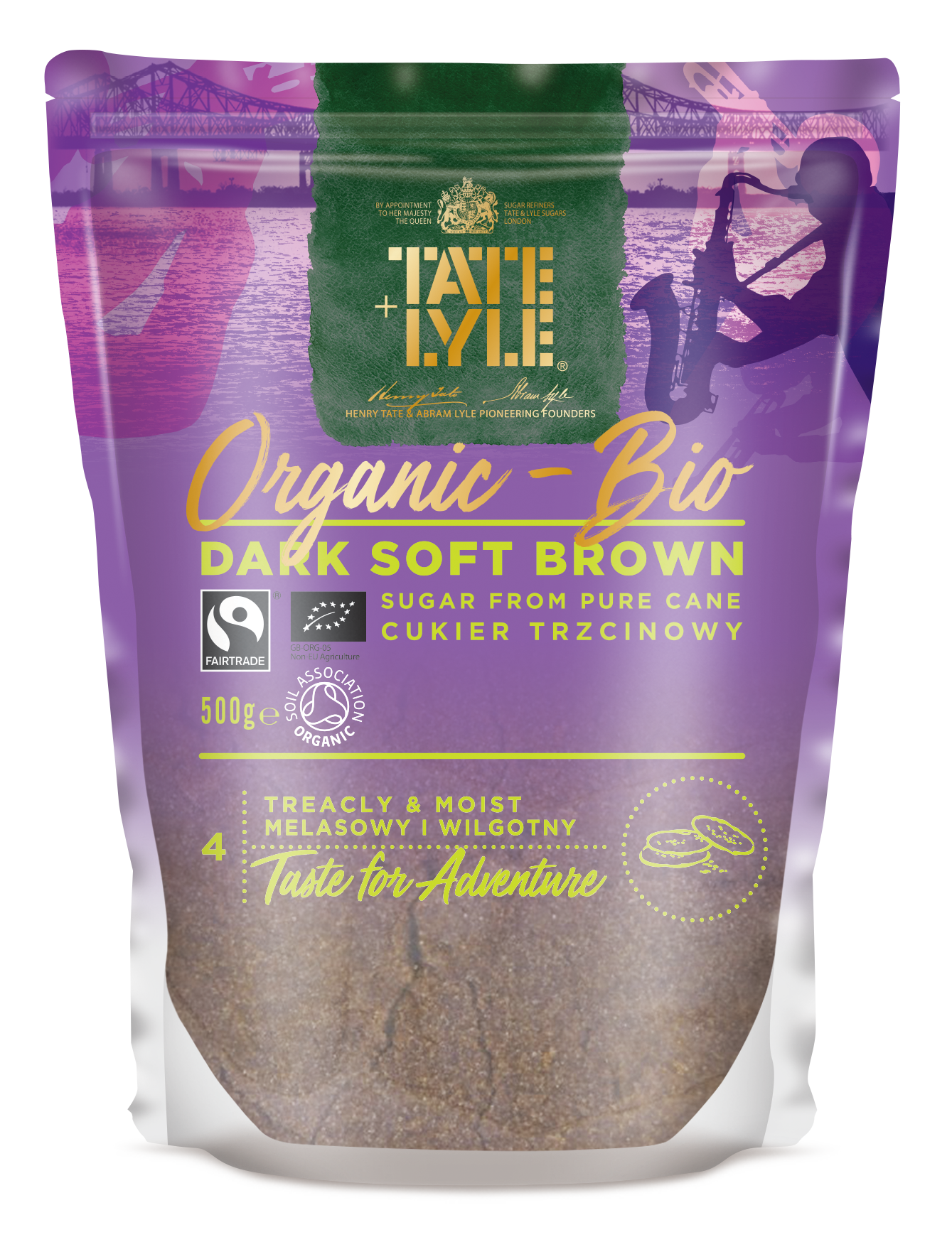 Organic Bio Dark Soft Brown Sugar