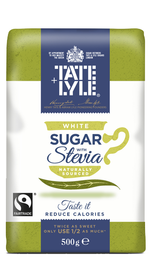 White Sugar with Stevia
