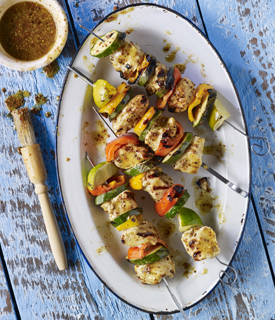 Summer Chicken Kebabs