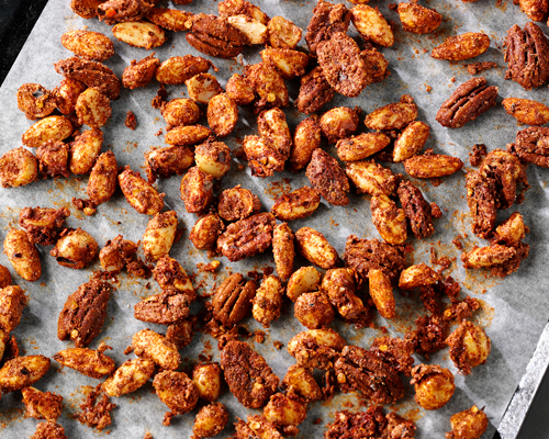 Sugar & Spice - Crusted Nuts