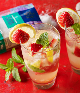 Strawberry & Lemon Mojito