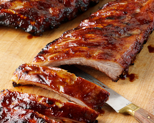 Sticky Aromatic Pork Ribs