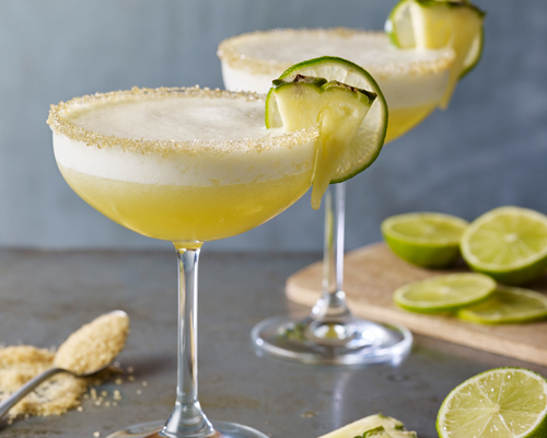 Pineapple & Demerara Frozen Margarita