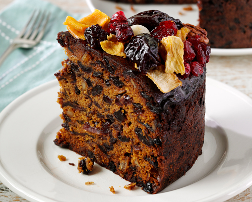 Muscovado Glazed Fruit Cake