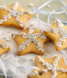 Sparkly Christmas Biscuits