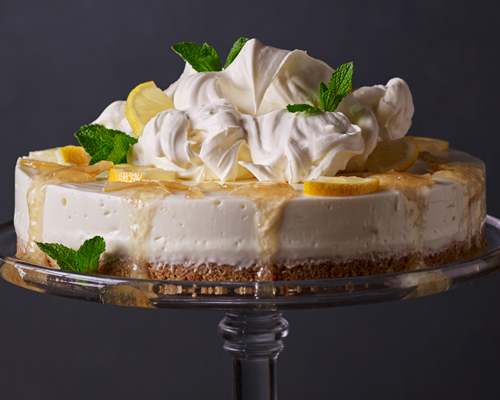 Lemon Elderflower Cheesecake