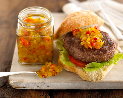 Fiery Pepper & Cucumber Relish