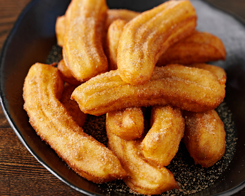 Churros with Cinnamon Sugar