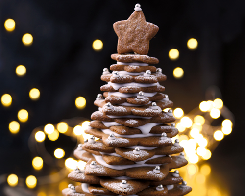 Christmas Tree Gingerbread