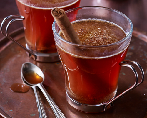 Chai-Spiced Hot Buttered Rum