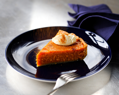 All American pumpkin pie