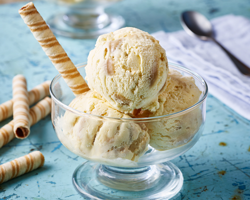 Easy Salted Caramel Ice Cream