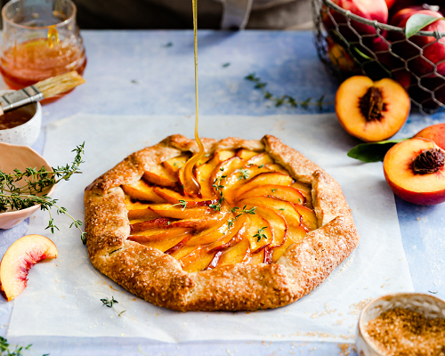 Brown Sugar Peach Galette