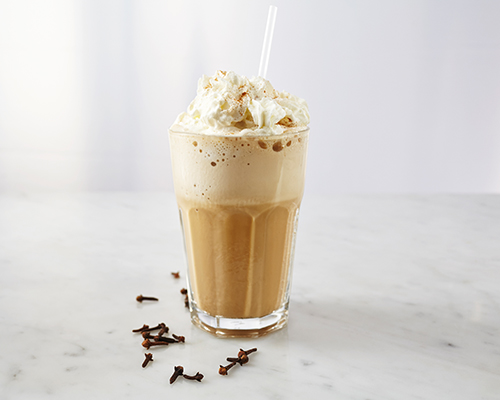 Cinnamon Coffee Frappé