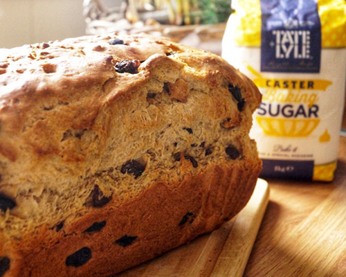 Spiced Cinnamon Raisin Bread