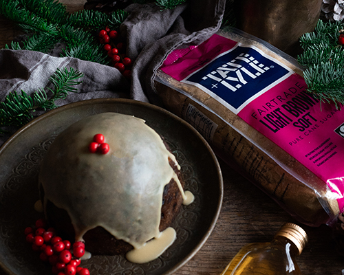 Christmas Pudding with Homemade Brandy Butter